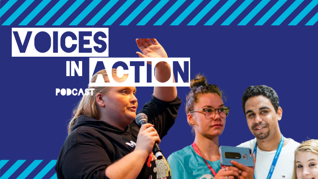 Voices in Action – the CREATE Foundation Podcasts